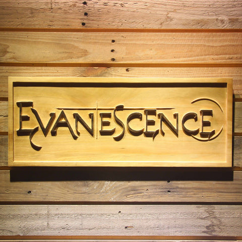 Evanescence Wooden Sign - Small - SafeSpecial