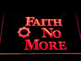 Faith No More LED Neon Sign - Red - SafeSpecial