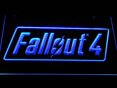 Fallout 4 LED Neon Sign - Blue - SafeSpecial