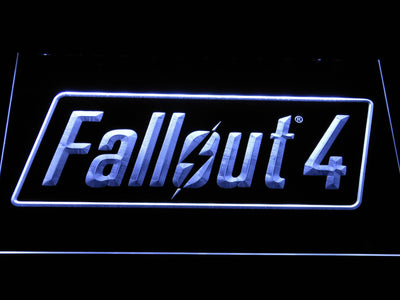 Fallout 4 LED Neon Sign - White - SafeSpecial