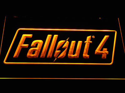 Fallout 4 LED Neon Sign - Yellow - SafeSpecial
