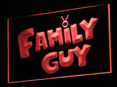 Family Guy LED Neon Sign - Red - SafeSpecial