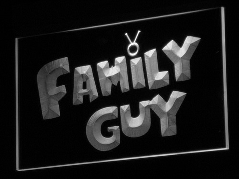 Image of Family Guy LED Neon Sign - White - SafeSpecial