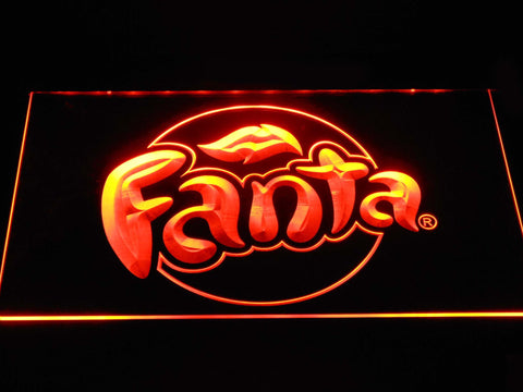 Fanta LED Neon Sign - Orange - SafeSpecial