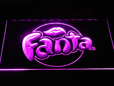 Fanta LED Neon Sign - Purple - SafeSpecial