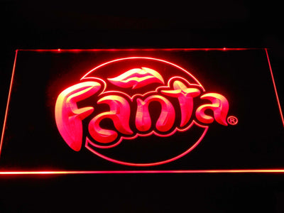 Fanta LED Neon Sign - Red - SafeSpecial