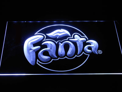 Fanta LED Neon Sign - White - SafeSpecial