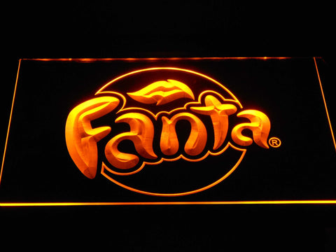 Fanta LED Neon Sign - Yellow - SafeSpecial