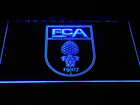 FC Augsburg LED Neon Sign - Blue - SafeSpecial