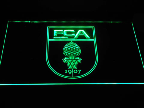 FC Augsburg LED Neon Sign - Green - SafeSpecial