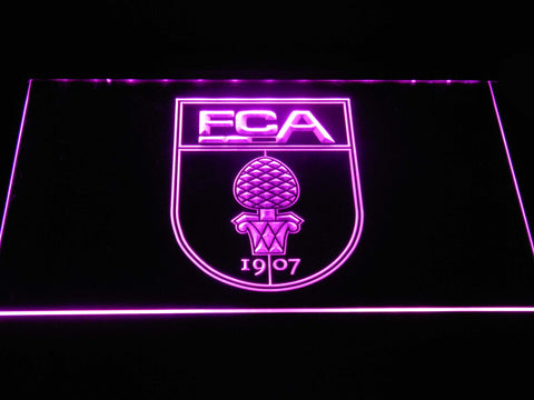 FC Augsburg LED Neon Sign - Purple - SafeSpecial