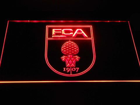 FC Augsburg LED Neon Sign - Red - SafeSpecial