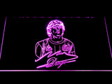 FC Barcelona Diego Maradona LED Neon Sign - Purple - SafeSpecial