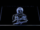 FC Barcelona Diego Maradona LED Neon Sign - White - SafeSpecial