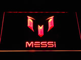 FC Barcelona Lionel Messi Logo LED Neon Sign - Red - SafeSpecial