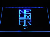 FC Barcelona Neymar Logo LED Neon Sign - Blue - SafeSpecial