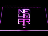 FC Barcelona Neymar Logo LED Neon Sign - Purple - SafeSpecial