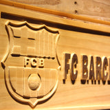 FC Barcelona Wooden Sign - - SafeSpecial