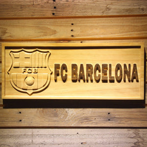 FC Barcelona Wooden Sign - Small - SafeSpecial