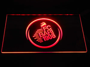 F.C. Bari 1908 LED Neon Sign - Red - SafeSpecial