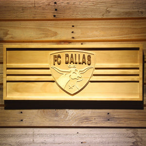 FC Dallas Wooden Sign - Small - SafeSpecial