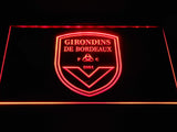 FC Girondins de Bordeaux LED Neon Sign - Red - SafeSpecial