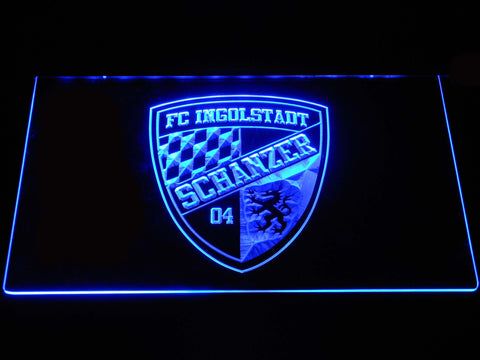 FC Ingolstadt 04 LED Neon Sign - Blue - SafeSpecial