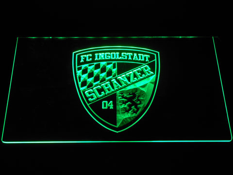 FC Ingolstadt 04 LED Neon Sign - Green - SafeSpecial