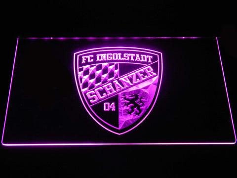 FC Ingolstadt 04 LED Neon Sign - Purple - SafeSpecial