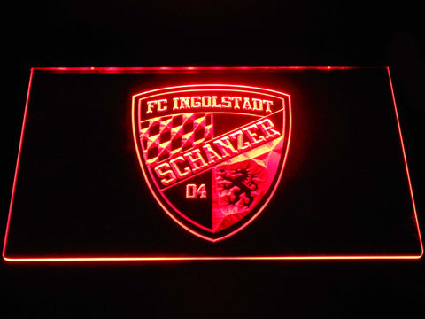 FC Ingolstadt 04 LED Neon Sign - Red - SafeSpecial