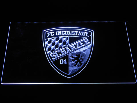 FC Ingolstadt 04 LED Neon Sign - White - SafeSpecial