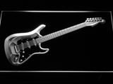 Fender Stratocaster LED Neon Sign - White - SafeSpecial