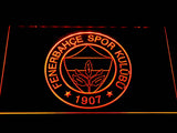 Fenerbahce SK Crest LED Neon Sign - Orange - SafeSpecial