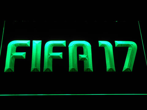 Image of FIFA 17 LED Neon Sign - Green - SafeSpecial