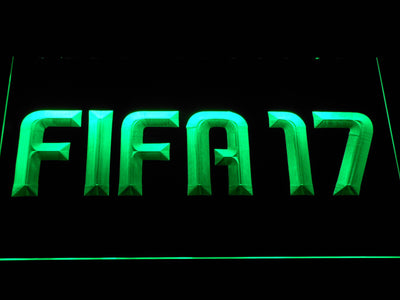 FIFA 17 LED Neon Sign - Green - SafeSpecial