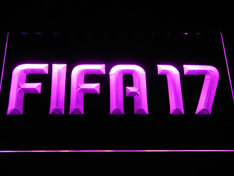 Image of FIFA 17 LED Neon Sign - Purple - SafeSpecial