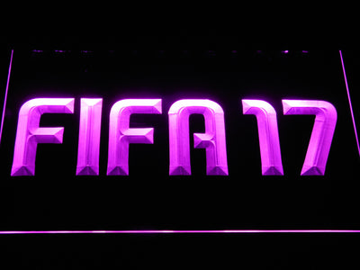 FIFA 17 LED Neon Sign - Purple - SafeSpecial