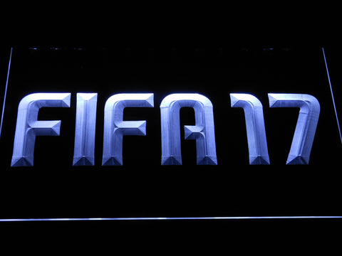 Image of FIFA 17 LED Neon Sign - White - SafeSpecial