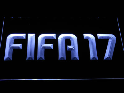 FIFA 17 LED Neon Sign - White - SafeSpecial