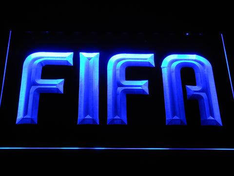 Image of FIFA LED Neon Sign - Blue - SafeSpecial