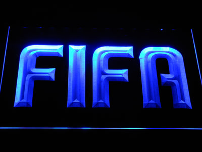 FIFA LED Neon Sign - Blue - SafeSpecial