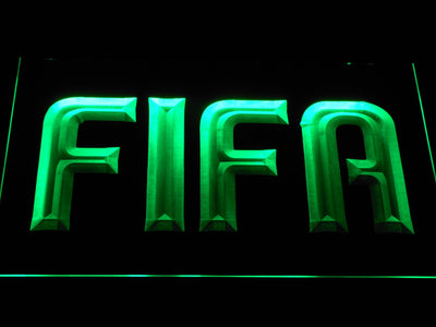 FIFA LED Neon Sign - Green - SafeSpecial