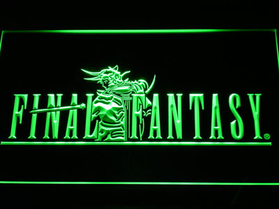 Final Fantasy I LED Neon Sign - Green - SafeSpecial