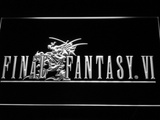 Final Fantasy VI LED Neon Sign - White - SafeSpecial