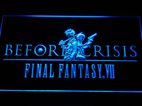 Final Fantasy VII Before Crisis LED Neon Sign - Blue - SafeSpecial