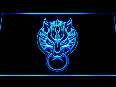 Final Fantasy VII - Fenrir LED Neon Sign - Blue - SafeSpecial