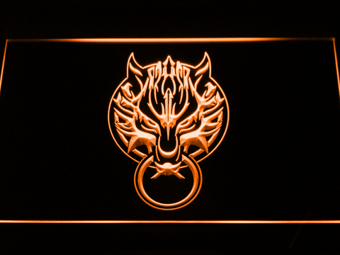 Final Fantasy VII - Fenrir LED Neon Sign - Orange - SafeSpecial