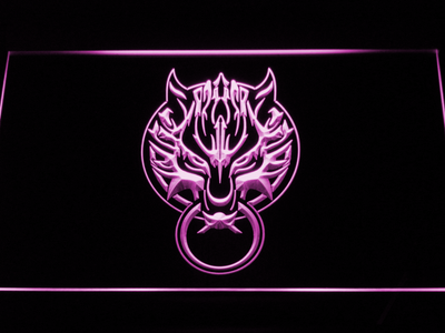 Final Fantasy VII - Fenrir LED Neon Sign - Purple - SafeSpecial