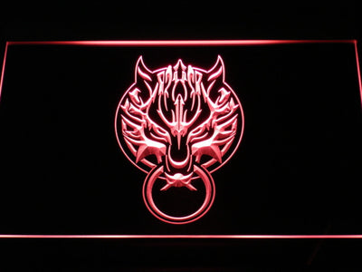 Final Fantasy VII - Fenrir LED Neon Sign - Red - SafeSpecial
