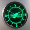 Final Fantasy VII LED Neon Wall Clock - Green - SafeSpecial